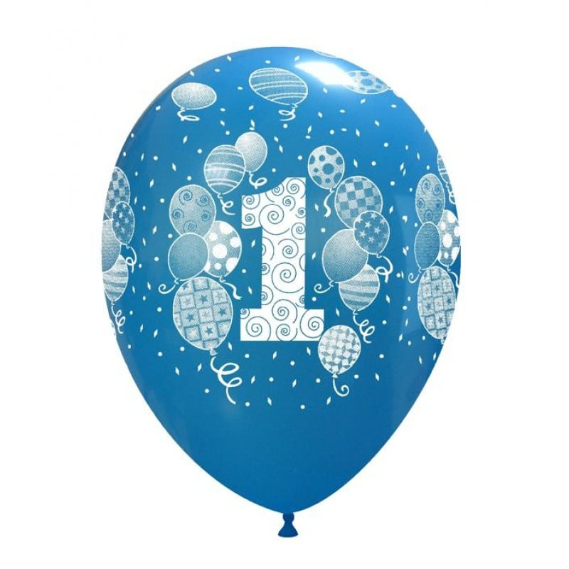 Palloncini primo compleanno stampa globo palloncini assortiti