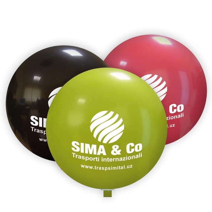 Palloni giganti personalizzati 100 cm diametro