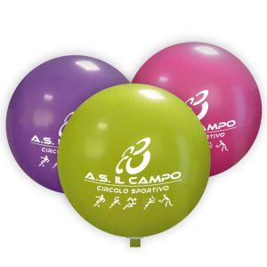 Palloni giganti pubblicitari 120 cm diametro
