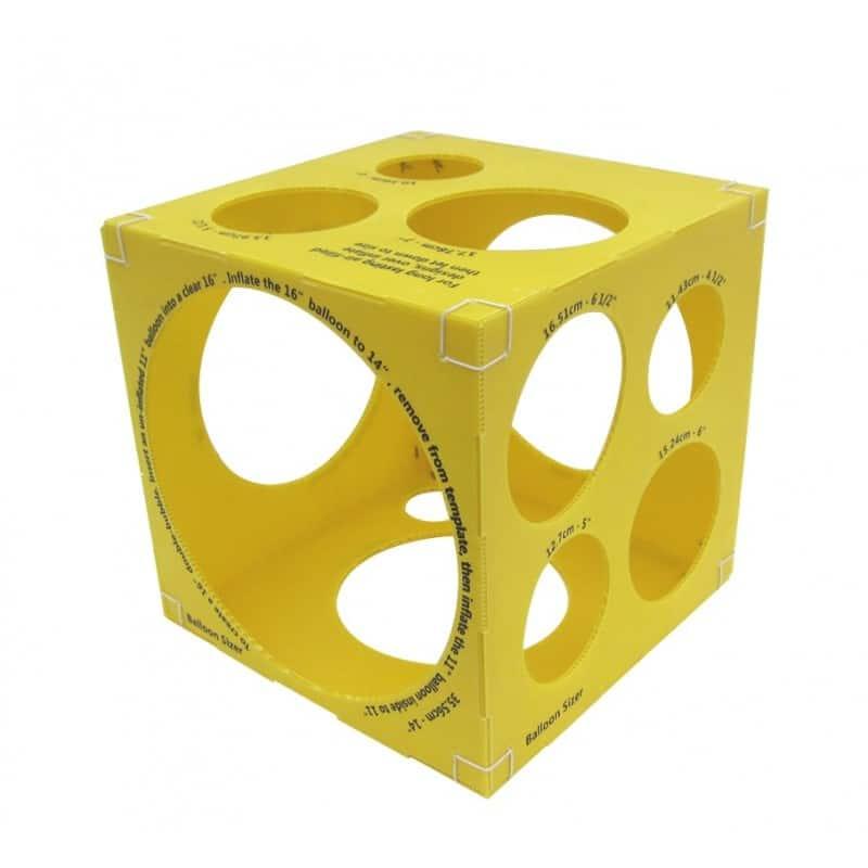 cubo balloon sizer per gonfiaggio palloncini