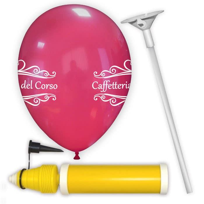 kit palloncini personalizzati modello 4