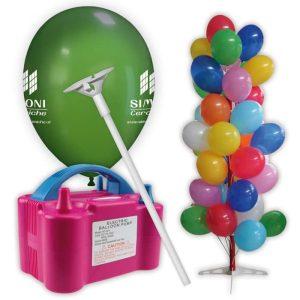 kti palloncini pubblicitari palloni gonfiatore espositore