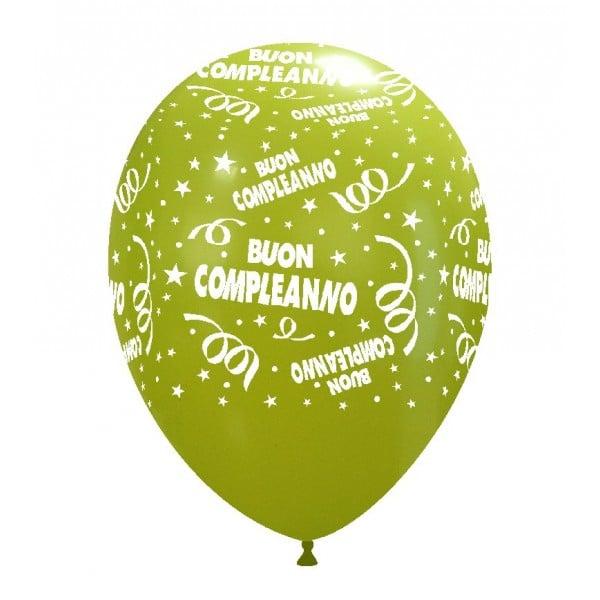 palloncini buon compleanno stampa globo cedro