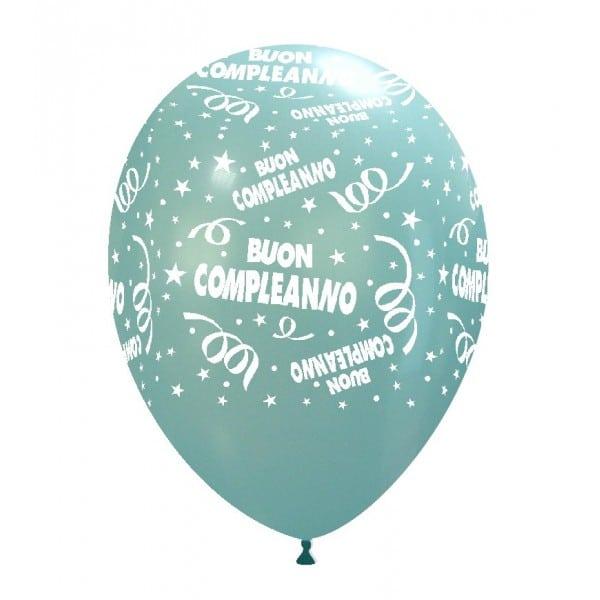 palloncini buon compleanno stampa globo celeste