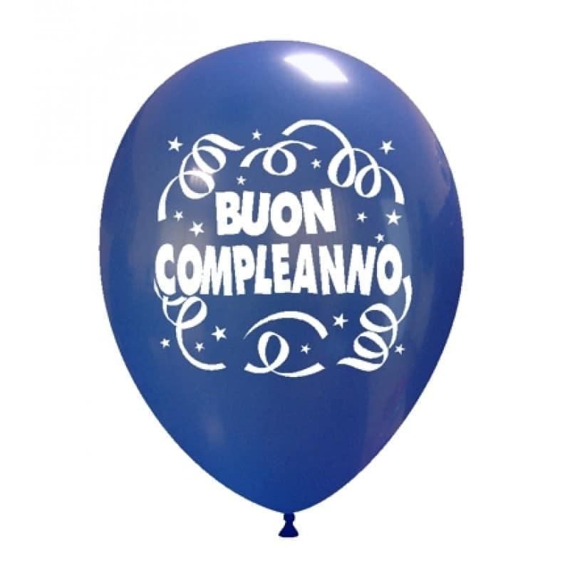 palloncini buon compleanno stampa italiano