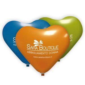 palloncini personalizzati cuore standard
