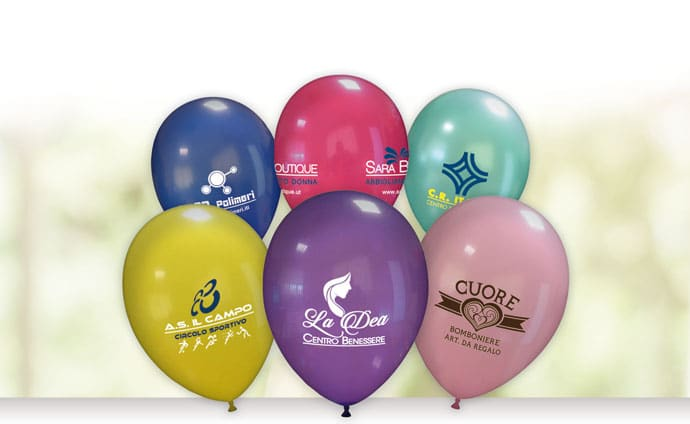 palloncini personalizzati produzione