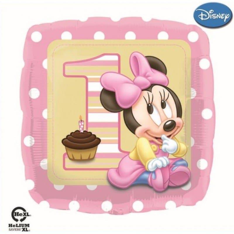 palloncini primo compleanno bambina disney topolina