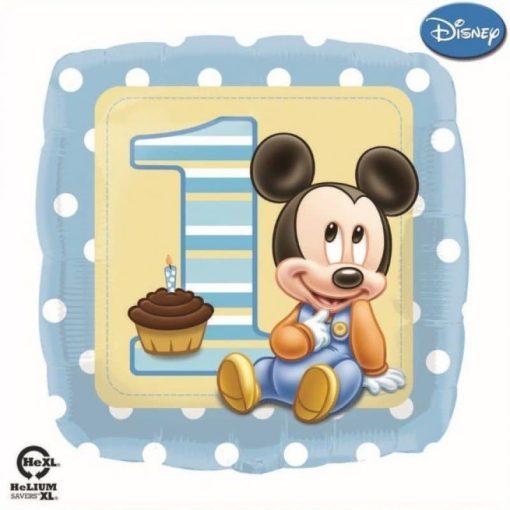 palloncini primo compleanno bambino disney topolino
