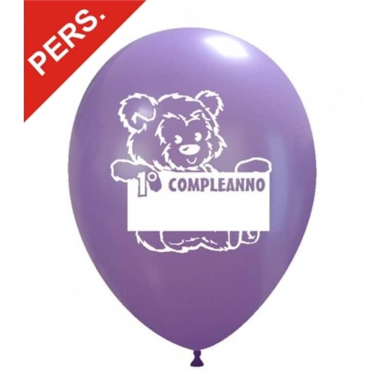 palloncini primo compleanno scrivibile