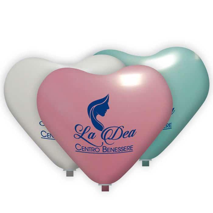 palloncini pubblicitari cuore grande