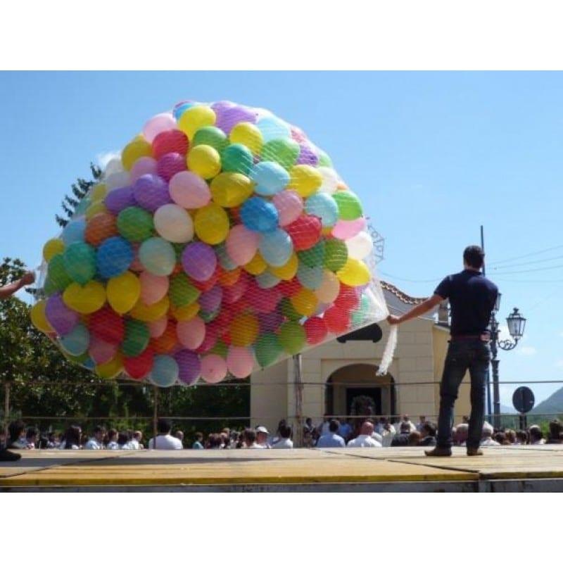 rete palloncini grandi