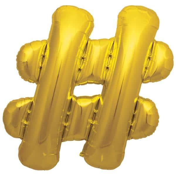 palloncini forma lettera oro lettere giganti 1
