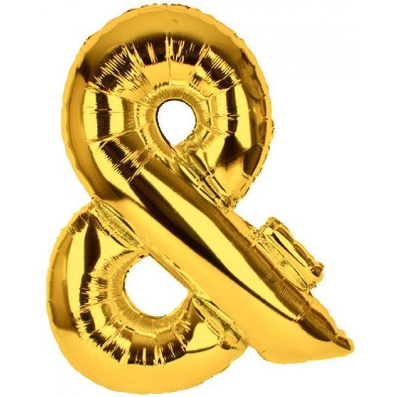 palloncini forma lettera oro lettere giganti