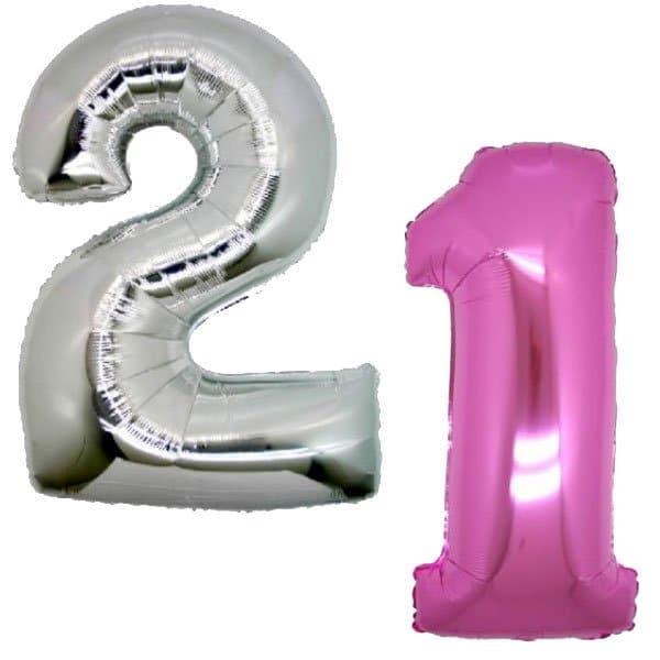 palloncini mylar numeri grandi