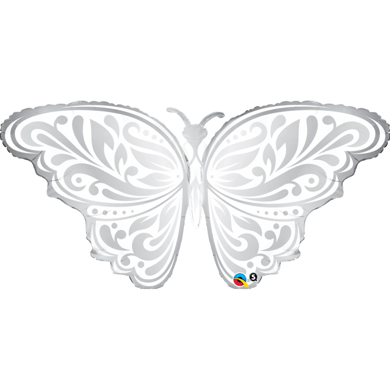 palloncini Farfalla argento
