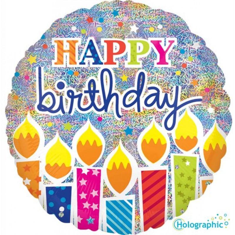 palloncini happy birthday candeline
