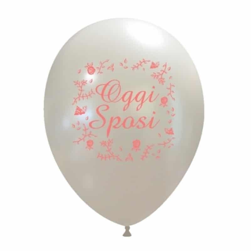 palloncini oggi sposi