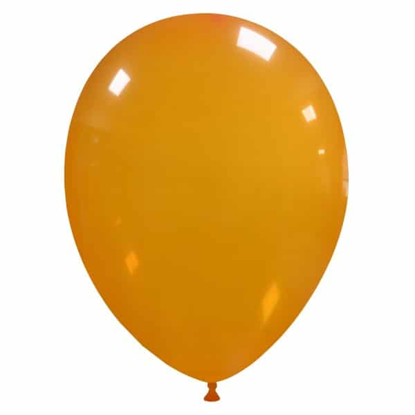 palloncini colore cristallo arancione 43