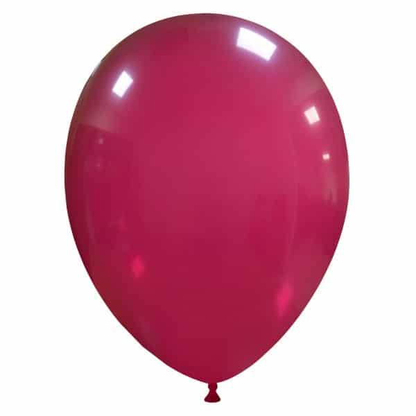 palloncini colore cristallo bordeaux 48