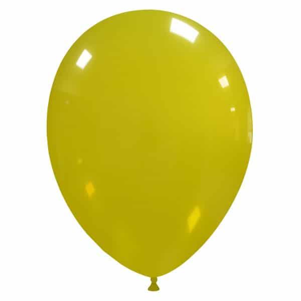 palloncini colore cristallo giallo 39
