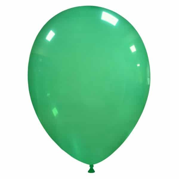 palloncini colore cristallo verde 44