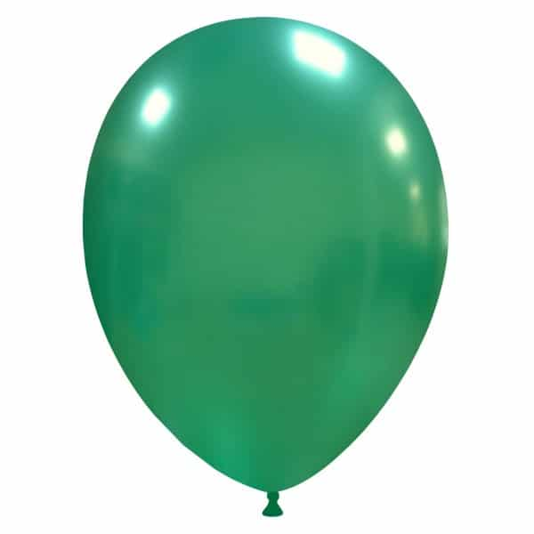 palloncini colore cristallo verde scuro