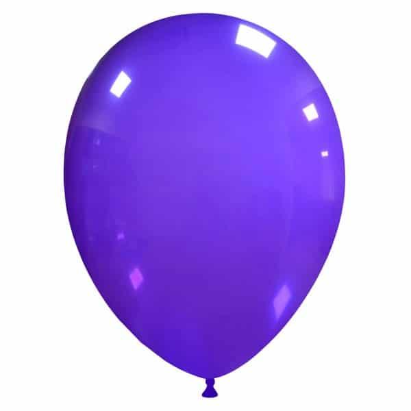 palloncini colore cristallo viola 45