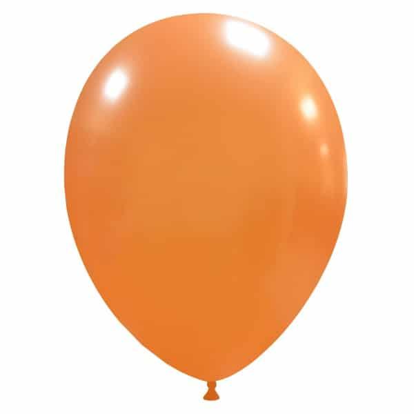 palloncini colore metallizzati arancione