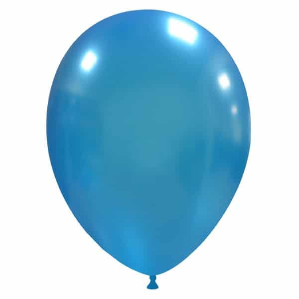 palloncini colore metallizzati blu chiaro