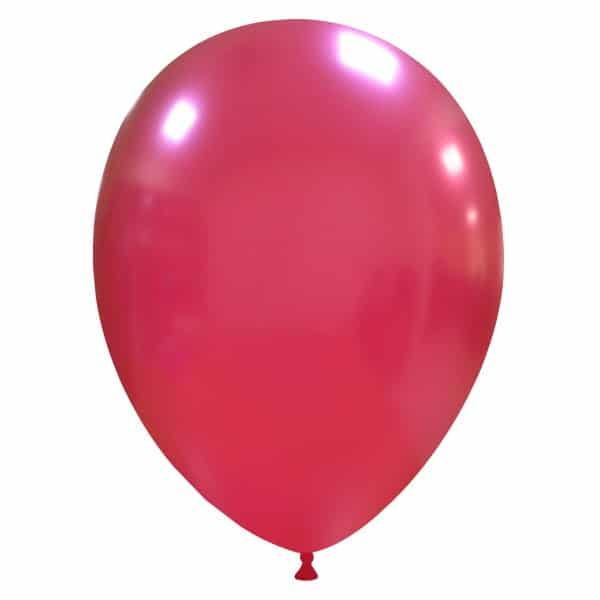 palloncini colore metallizzati bordeaux