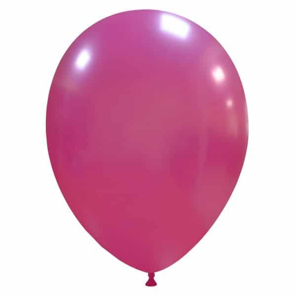 palloncini colore metallizzati fucsia