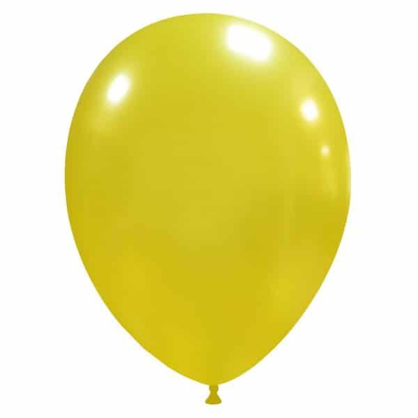 palloncini colore metallizzati giallo scuro