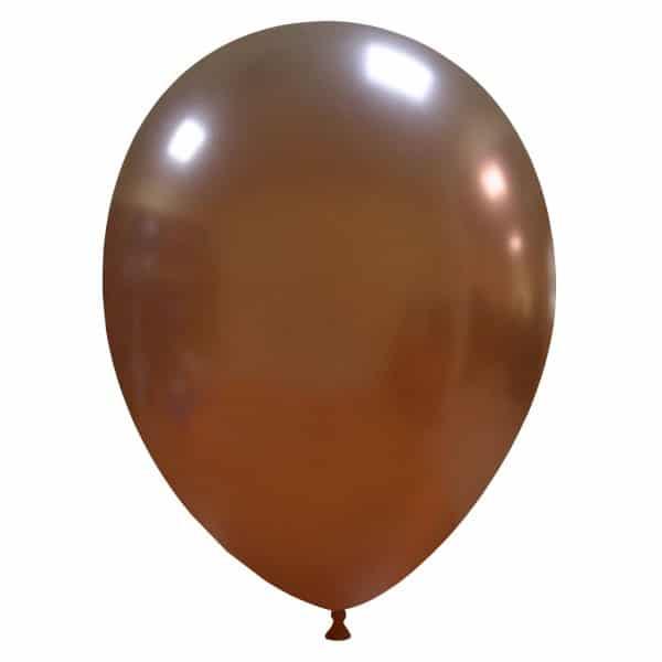 palloncini colore metallizzati marrone