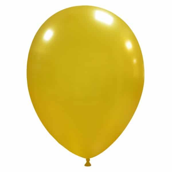 palloncini colore metallizzati oro