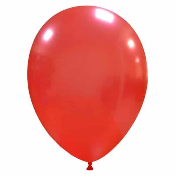 palloncini colore metallizzati rosso scuro