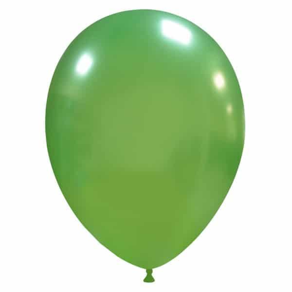 palloncini colore metallizzati verde chiaro