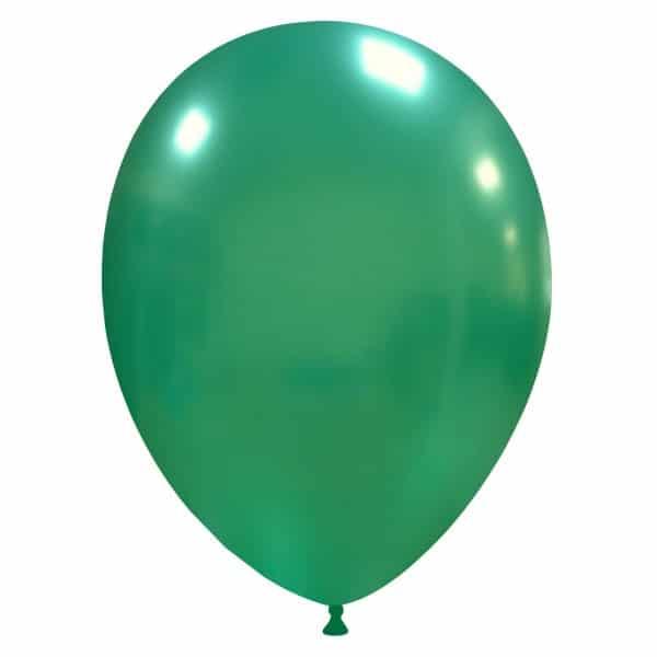 palloncini colore metallizzati verde scuro