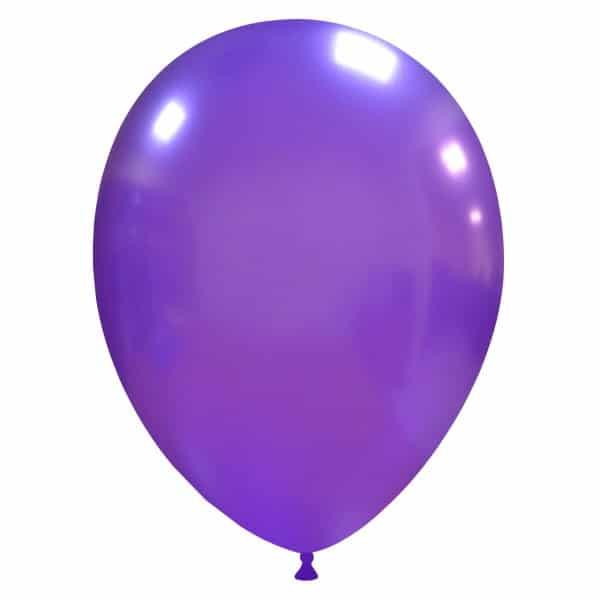palloncini colore metallizzati viola
