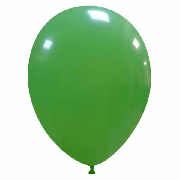 palloncini colore verde scuro