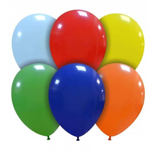 palloncini colori assortiti