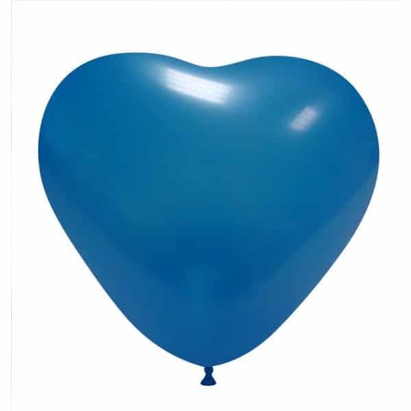 palloncini cuore blu chiaro