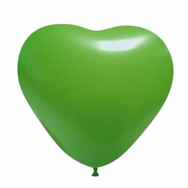 palloncini cuore verde chiaro