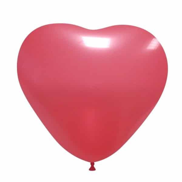 palloncini matromonio san valentino cuore rosso chiaro