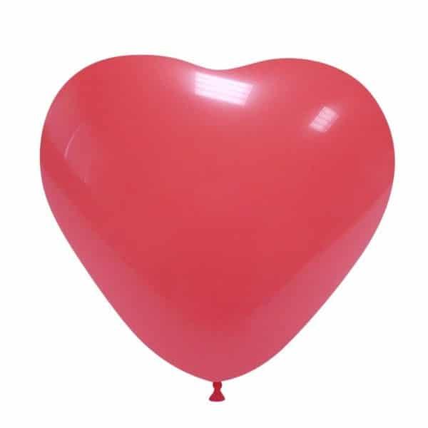 palloncini matromonio san valentino cuore rosso scuro