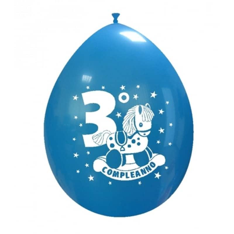 Palloncini compleanno 3° Compleanno