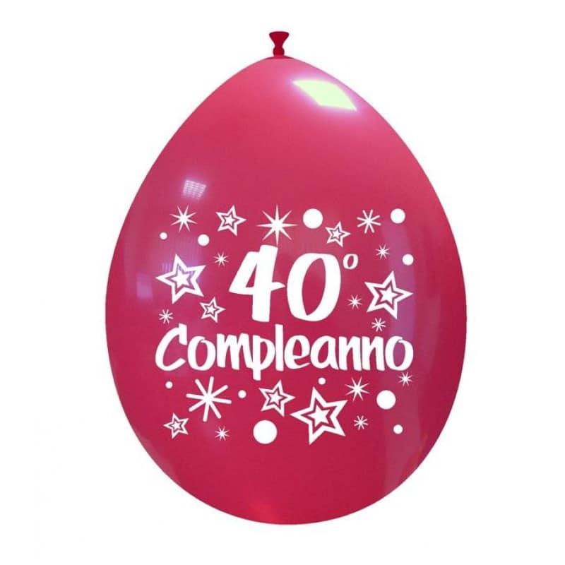 Palloncini compleanno 40° Compleanno
