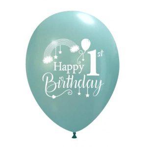 Palloncini compleanno 1° Compleanno Arcobaleno