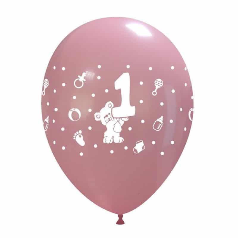 Palloncini compleanno 1° Compleanno Orsetto