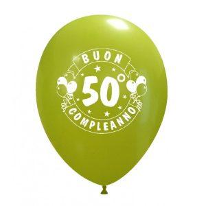 Palloncini compleanno 50° Compleanno